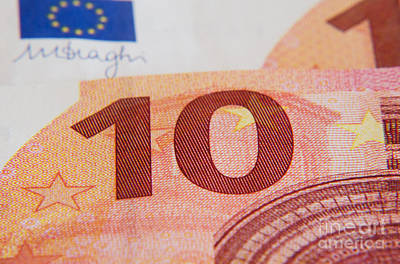 Euro Zone Photograph - Euros by Rex Wholster