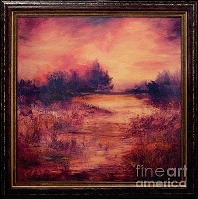 Painting - Evening Amber by Glory Wood