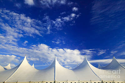 Photograph - Event Tent Stowe Vermont Usa by Don Landwehrle