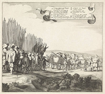 Exodus From The Spanish Army From Maastricht Art Print