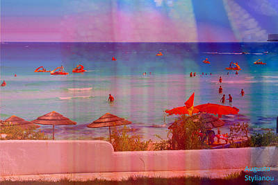 Photograph - Exotic Beach by Augusta Stylianou