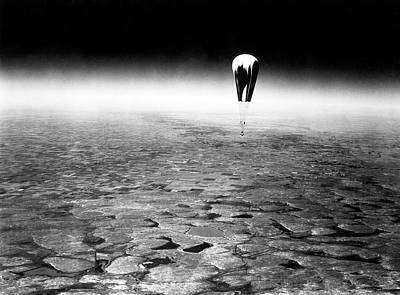 Explorer II High-altitude Balloon Art Print by American Philosophical Society