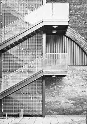 Exterior Stairs Art Print