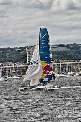 Photograph - Extreme 40 Team Red Bull by Steve Purnell
