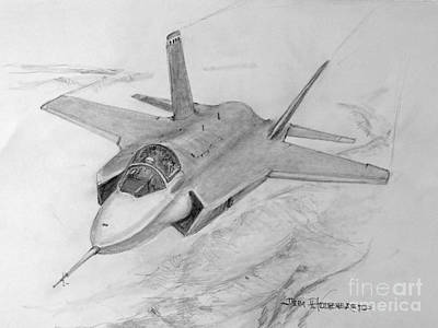 F-35 Joint Strike Fighter Art Print