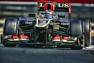 F1 World Champion Kimi Raikonnen Original by Srdjan Petrovic