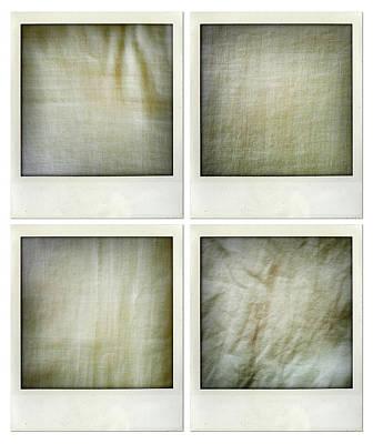 Fabrics Art Print by Les Cunliffe