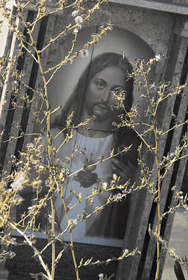 Tijuana Photograph - Face Of Jesus Tijuana Mexico 2010 by John Hanou