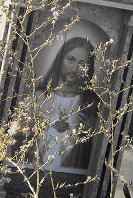 Face Of Jesus Tijuana Mexico 2010 Original by John Hanou