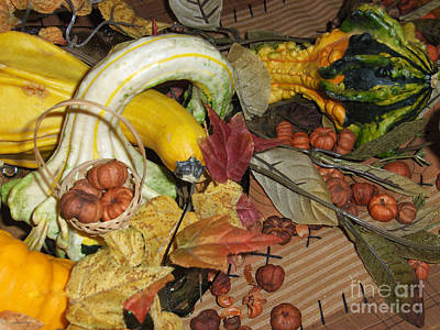 Photograph - Fall Harvest by Brenda Brown