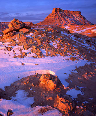 Photograph - Fantastic Factory Butte by Ray Mathis