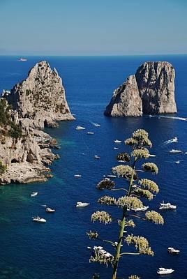 Photograph - Faraglioni In Capri by Dany Lison