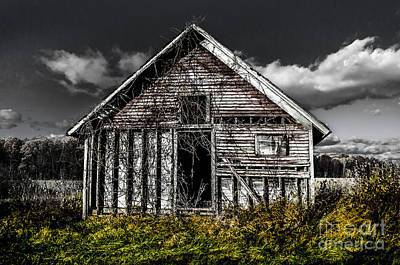 Photograph - Farm Building by Michael Arend