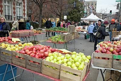 Apple Photograph - Farmers Market by Jim West