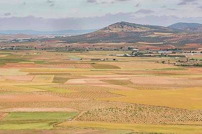 Farming Near Consuegra, Spain Art Print by Ken Welsh