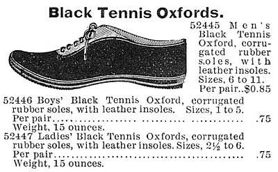 Fashion Sneakers, 1895 Art Print by Granger