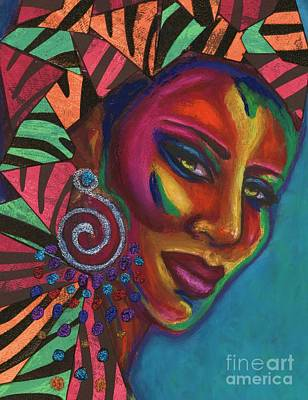 Feminine Mystique Art Print by Alga Washington
