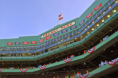 Stadium Scene Photograph - Fenway's 100th by Joann Vitali