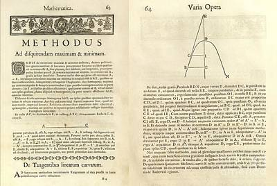 Analytic Photograph - Fermat's Tangent Method by Royal Astronomical Society