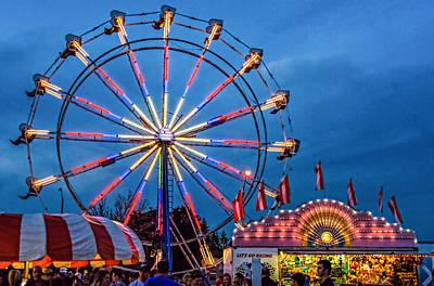Valentines Day - Ferris Wheel 2 by Steve Harrington