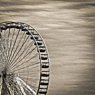 Photograph - Ferris Wheel by Tony Grider