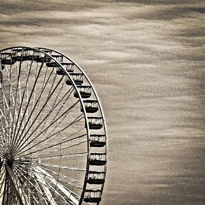 Photograph - Ferris Wheel by Tony Grider