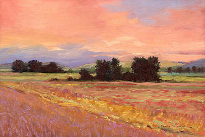 Painting - Field Glory by J Reifsnyder