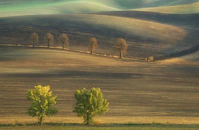 Dirt Photograph - Fields... by Krzysztof Browko