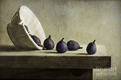 Figs Art Print by Elena Nosyreva