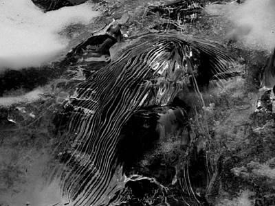 Photograph - Figured Thin Ice by Thomas Samida