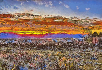 Photograph - Fire In The Morning by Charles Muhle