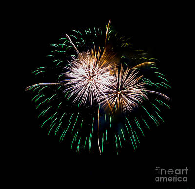 Photograph - Fireworks by Grace Grogan