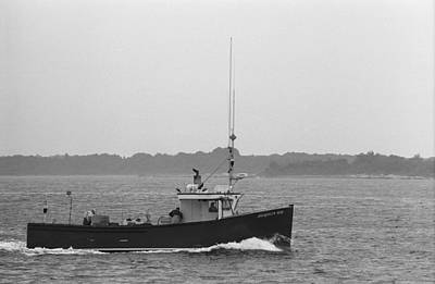 Photograph - Fishing Boat - Portland Maine by Frank Romeo