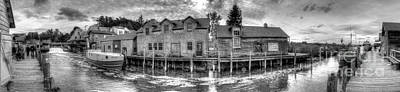 Fishtown Panorama Art Print by Twenty Two North Photography