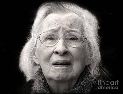 Photograph - Five Minutes In A Long Life by Ellen Cotton