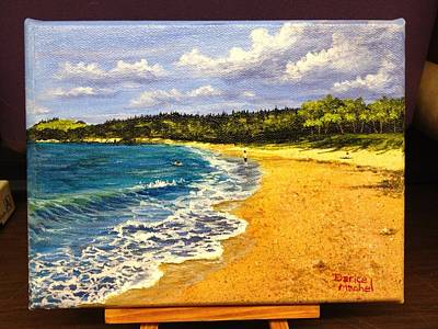 Painting - Fleming Beach by Darice Machel McGuire