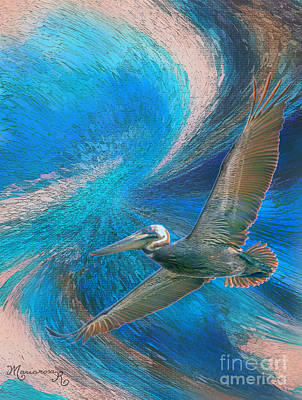 Photograph - Flight by Mariarosa Rockefeller