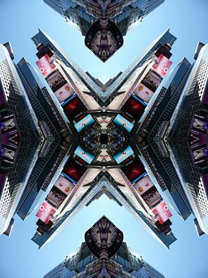 Photograph - Flip Shot Times Square by Keith McGill