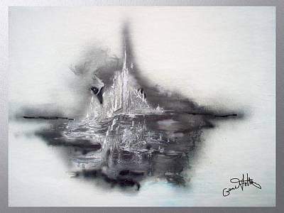Floating Image Art Print