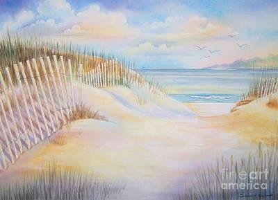 Florida Skies Art Print by Deborah Ronglien