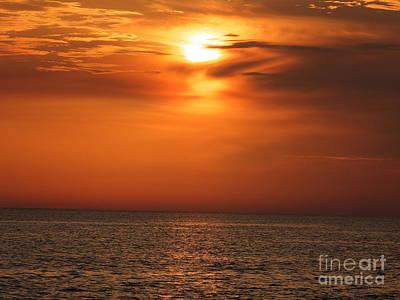 Photograph - Florida Sunset by Vicky Tarcau