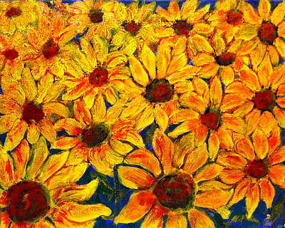 Painting - Flowers by Don Thibodeaux