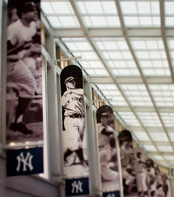 New York Yankees Photograph - Focus On The Iron Horse by Aurelio Zucco
