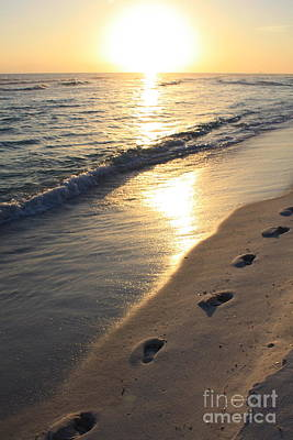 Photograph - Footprints In The Sand by Danielle Groenen