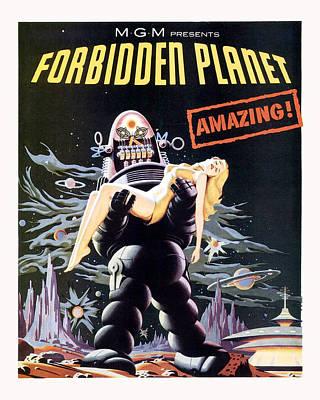 Forbidden Planet  Art Print by Silver Screen