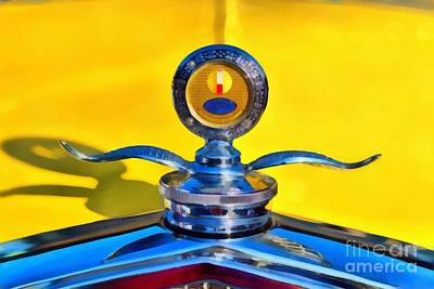 Show Painting - 1930 Ford Model A Coupe by George Atsametakis
