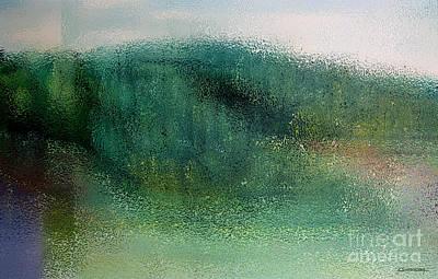Forest Impression Art Print by Christian Simonian
