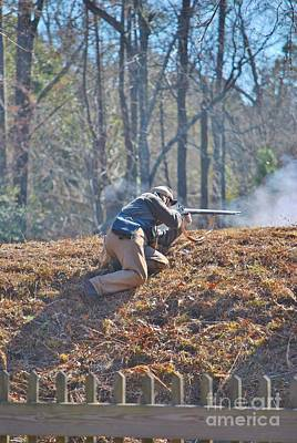 Photograph - Fort Anderson Civil War Re Enactment 4 by Jocelyn Stephenson