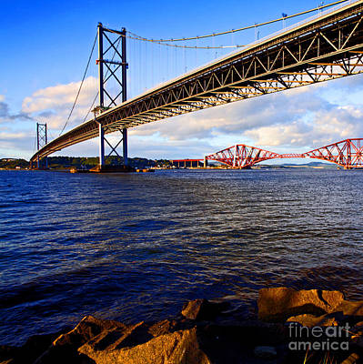 Photograph - Forth Bridges by Craig B