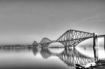 Forth Rail Bridge  Art Print